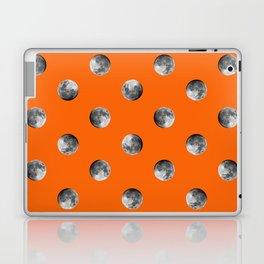 Lunar Moon - orange Laptop & iPad Skin