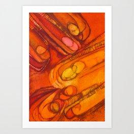 Congestion Art Print