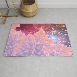 Universe in nature Rug