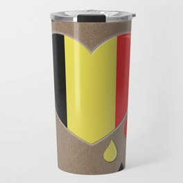 Crying for Belgium Brussels Travel Mug