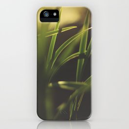 The Details in Grass iPhone Case