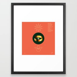 ANALOG zine Framed Art Print
