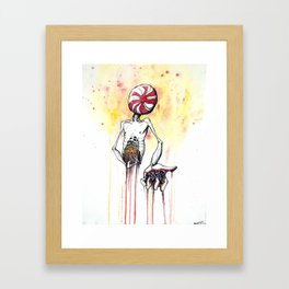 Prescriptions Like Candy Framed Art Print
