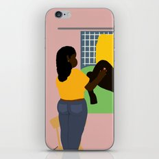self preservation iPhone Skin