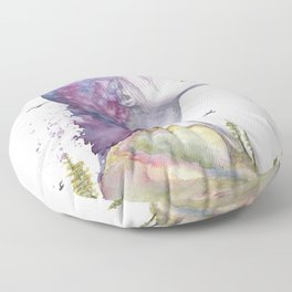 Arise by Ruth Oosterman Floor Pillow
