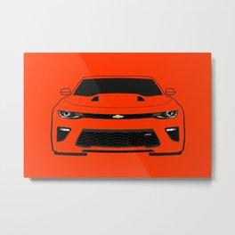 Camaro SS Metal Print