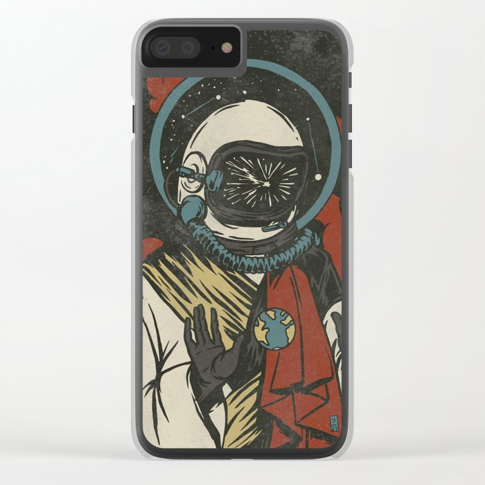 Spirit Of Discovery Clear iPhone Case