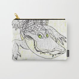 Smiling Gator Carry-All Pouch
