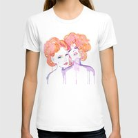 gustav klimt T-shirts featuring Klimt Mistresses by Nicola MacNeil