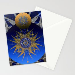 Sky Force Eye Portal Mandala Stationery Cards