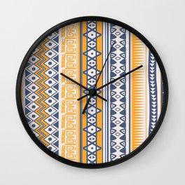 Tribal-Ethnic Wall Clock