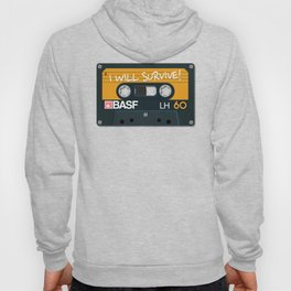 Vintage Audio Tape - BASF - I Will Survive! Hoody