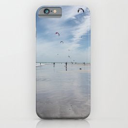 Windy days on the beach- travel photography- Cape Town iPhone Case