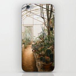 Desert Cactus and Succulent Garden, Palm Springs iPhone Skin