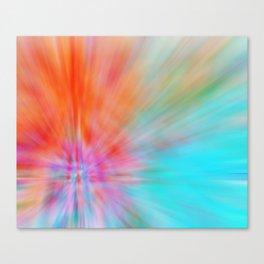 Abstract Big Bangs 002 Canvas Print