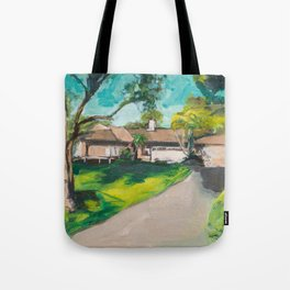 Golden Girls,Each View is an Postcard.... Tote Bag