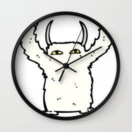 abominable douglas Wall Clock
