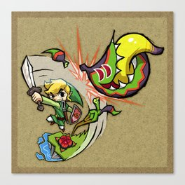 Legend of Zelda Wind Waker Boko Baba T-Shirt Canvas Print