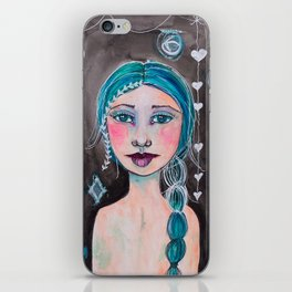 Midnight whimsy iPhone Skin