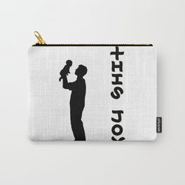 THIS JOY ambigram (turn your head 90 degrees :) Carry-All Pouch