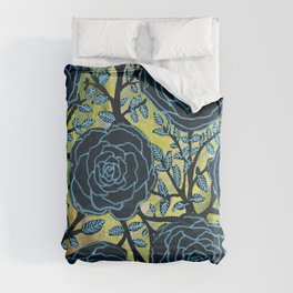 Black and Blue Comforters