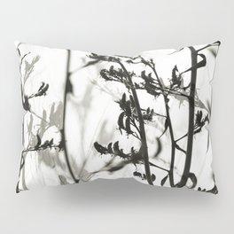 New Zealand Flax silhouettes Pillow Sham
