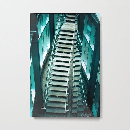 Revel Steps Metal Print