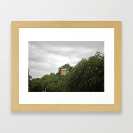 Bat-House Framed Art Print