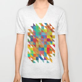 Color Chaos Unisex V-Neck