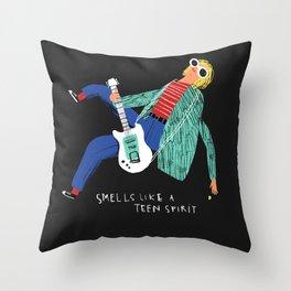 LIKE A TEEN SPIRIT Throw Pillow