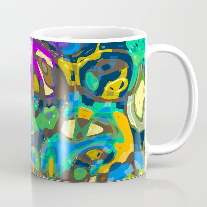Abstract Mash Up Coffee Mug