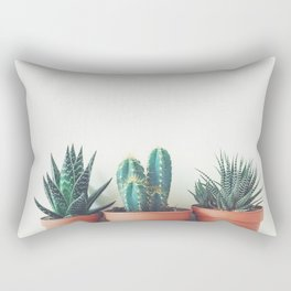 Potted Plants Rectangular Pillow