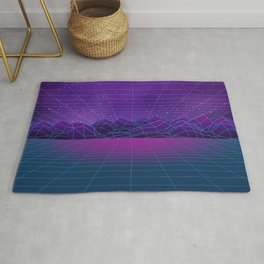 Synthwave Space Rug