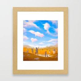 Cloud Spotting Framed Art Print