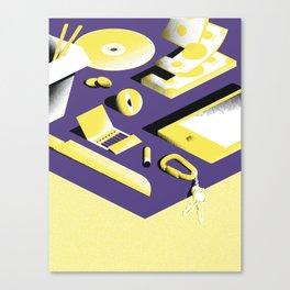 Chillin - 2 Canvas Print