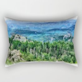 Black Hills of South Dakota Rectangular Pillow
