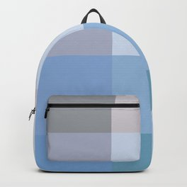 BLOCKS - BLUE TONES - 1 Backpack