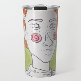 Carrots and leaves Travel Mug