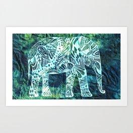 Digital Elefantastic Art Print