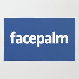 Facepalm Rug