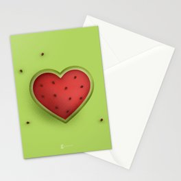 Melon Love Stationery Cards