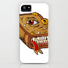 monster book. iPhone Case