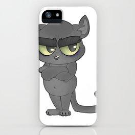"""Not Havin' It"" Kiki iPhone Case"