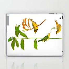 Hooded Warbler Bird Laptop & iPad Skin