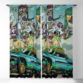 B-Side Low Ride Blackout Curtain