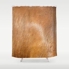 Horse Hide rustic decor Shower Curtain