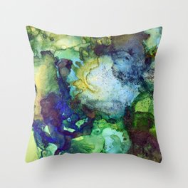 Jungle Immersion Throw Pillow