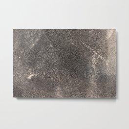 Sandpaper Texture Metal Print