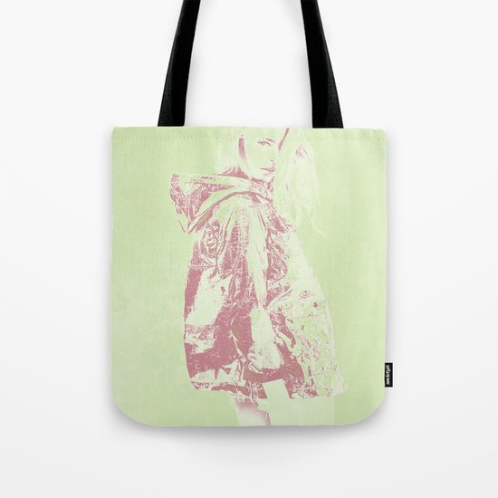 Young girl Tote Bag