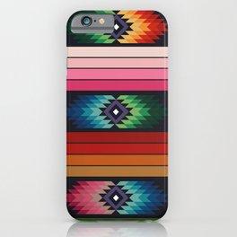 American Native Pattern No. 142 iPhone Case